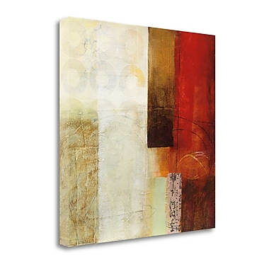 Tangletown Fine Art 'Warmth III' by Jane Davies Painting Print on Wrapped Canvas; 30'' H x 30'' W