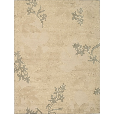 Darby Home Co Peterson Hand-Tufted Beige Area Rug; 3'6'' x 5'6''