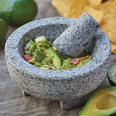Fox Run Craftsmen Granite Molcajete Mortar And Pestle Set