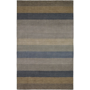Williston Forge Goshen Striped Wool Rug; 2' x 3'