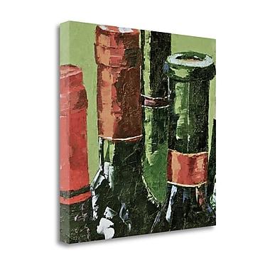 Tangletown Fine Art 'Really Big Reds' Print on Canvas; 28'' H x 28'' W