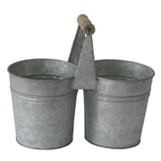 Cheungs Metal Double Holder Pot Planter