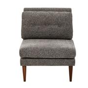 Ink + Ivy Auburn Armless Slipper Chair