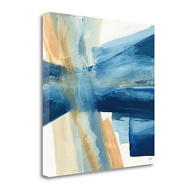 Tangletown Fine Art 'Indigo II' Print on Canvas; 30'' H x 30'' W