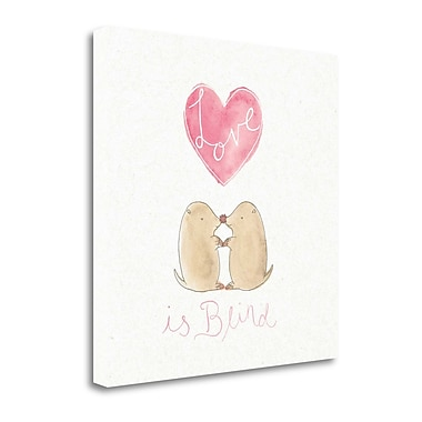 Tangletown Fine Art 'Tough Love IV' by Elyse DeNeige Graphic Art on Wrapped Canvas; 35'' H x 35'' W