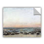 ArtWall Sunset Trouville Wall Decal; 14'' H x 18'' W x 0.1'' D