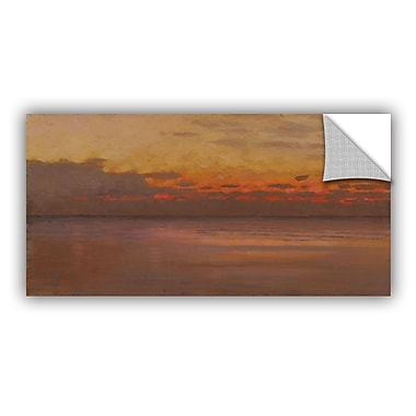 ArtWall Sunset over Sea Wall Decal; 24'' H x 36'' W x 0.1'' D