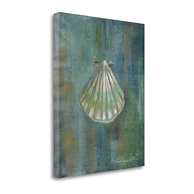 Tangletown Fine Art 'Tropical Sea II' by Silvia Vassileva Painting Print on Wrapped Canvas