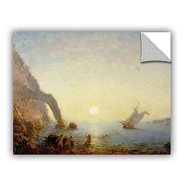ArtWall The Call of the Sirens Wall Decal; 36'' H x 48'' W x 0.1'' D