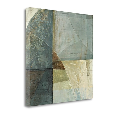Tangletown Fine Art 'Arches' by Mike Schick Graphic Art on Wrapped Canvas; 20'' H x 20'' W