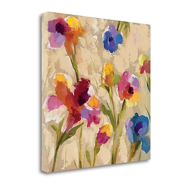 Tangletown Fine Art 'Bold Bright Flowers II' by Silvia Vassileva Painting Print on Wrapped Canvas