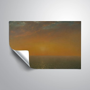 ArtWall Sunset on the Sea Wall Decal; 16'' H x 24'' W x 0.1'' D