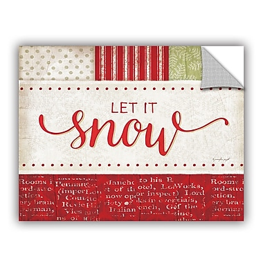 ArtWall Snow Wall Decal; 14'' H x 18'' W x 0.1'' D