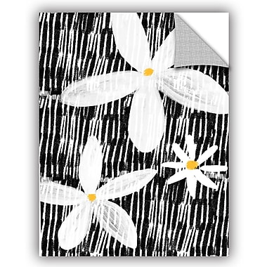 ArtWall BW Floral Yellow Wall Decal; 24'' H x 18'' W x 0.1'' D