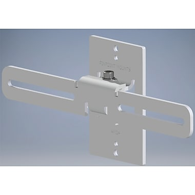 Pinpoint Mounts Universal Center Channel Mount (Set of 2); White