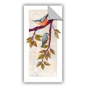 Winston Porter Jackie Branch Birds II Wall Decal; 24'' H x 12'' W x 0.1'' D