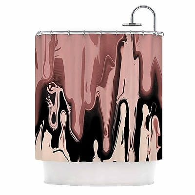East Urban Home 'Nude Drip' Shower Curtain WYF078281406190