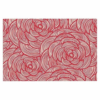 East Urban Home 'Roses' Doormat