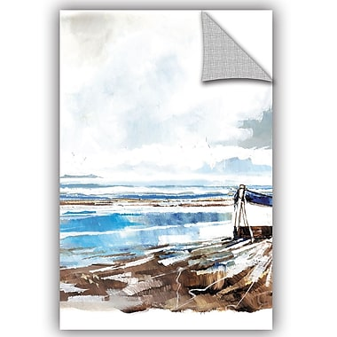 Breakwater Bay Amiyah Boat on Shore II Wall Decal; 24'' H x 16'' W x 0.1'' D