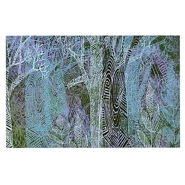 East Urban Home 'Wild Forest' Trees Decorative Doormat
