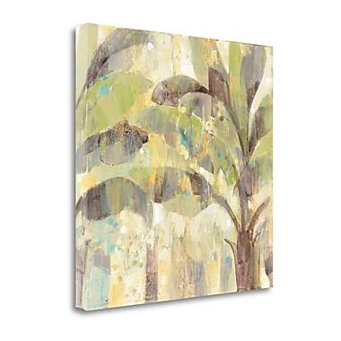 Tangletown Fine Art 'Bimini II' by Albena Hristova Painting Print on Wrapped Canvas; 25'' H x 25'' W