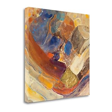 Tangletown Fine Art 'Arroyo' by Albena Hristova Painting Print on Wrapped Canvas; 35'' H x 35'' W