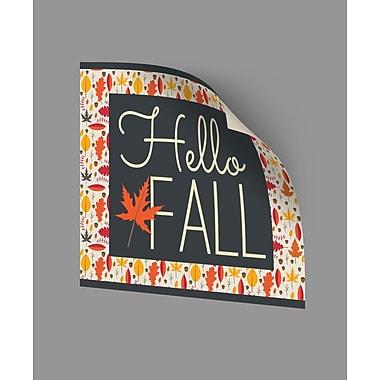 ArtWall Hello Fall II 2 Wall Decal; 18'' H x 18'' W x 0.1'' D