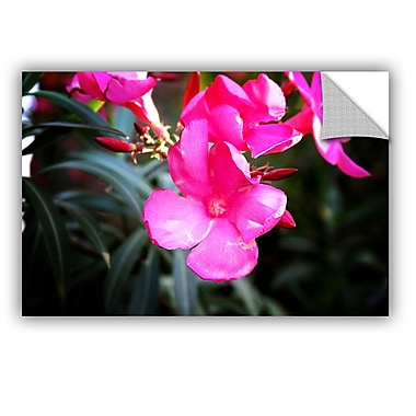 ArtWall Bright Pink Floral III Wall Decal; 32'' H x 48'' W x 0.1'' D