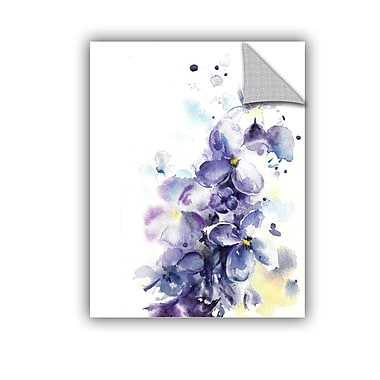 Ebern Designs Huffman Purple Wonder Wall Decal; 24'' H x 18'' W x 0.1'' D
