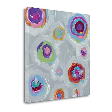 Tangletown Fine Art 'Frolic I Crop' by Wild Apple Portfolio Painting Print on Wrapped Canvas