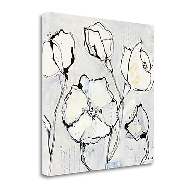 Tangletown Fine Art '16 Again III' by Kellie Day Painting Print on Wrapped Canvas; 30'' H x 30'' W