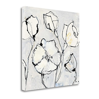 Tangletown Fine Art '16 Again III' by Kellie Day Painting Print on Wrapped Canvas; 20'' H x 20'' W
