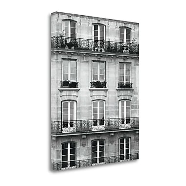Tangletown Fine Art 'Across the Street II' by Laura Marshall Photographic Print on Wrapped Canvas