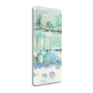 Tangletown Fine Art 'North Shore Panel III' by Mike Schick Painting Print on Wrapped Canvas