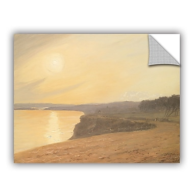 ArtWall Sunset Near Bournemouth Wall Decal; 24'' H x 36'' W x 0.1'' D