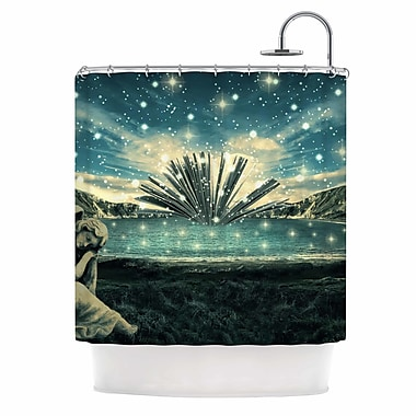 East Urban Home 'The Knowledge Keeper' Fantasy Shower Curtain
