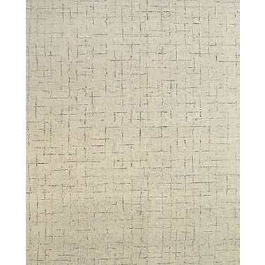 17 Stories Breonna Hand-Tufted Beige Area Rug; 9'6'' x 13'6''