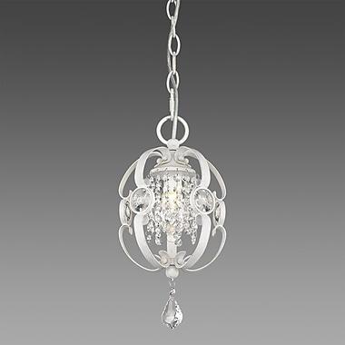 Willa Arlo Interiors Hardouin 1-Light Foyer Pendant; French White