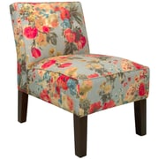 Alcott Hill Garden Slipper Chair; Premier Lazuli Blue