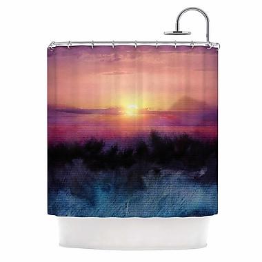 East Urban Home 'Calling the Sun Iv' Shower Curtain