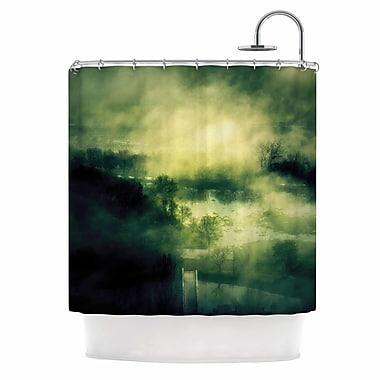 East Urban Home 'Dark Mystical Landscape' Shower Curtain