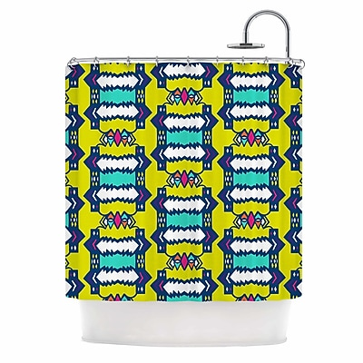 East Urban Home 'Party Vibes' Shower Curtain