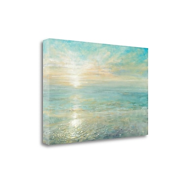 Tangletown Fine Art 'Sunrise' by Danhui Nai Painting Print on Wrapped Canvas; 26'' H x 39'' W