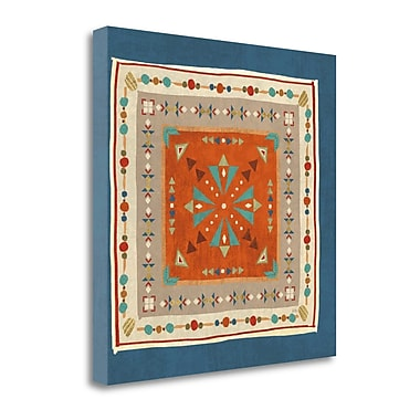Tangletown Fine Art 'Southwest at Heart Tile V' by Veronique Charron Graphic Art on Wrapped Canvas
