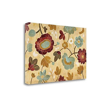 Tangletown Fine Art 'Arts and Crafts Garden I' by Silvia Vassileva Painting Print on Wrapped Canvas