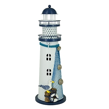 AttractionDesignHome Nautical Anchor Iron Candle Holder