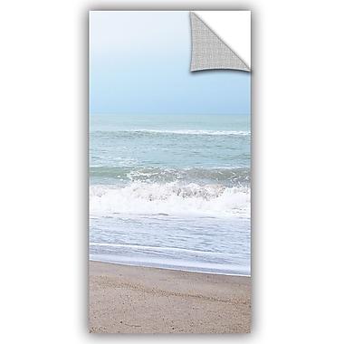 ArtWall Pastel Beach I Wall Decal; 24'' H x 12'' W x 0.1'' D