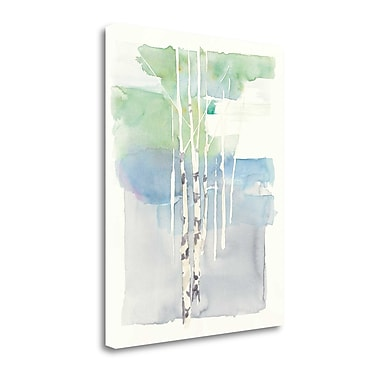 Tangletown Fine Art 'Aspens I' by Avery Tillmon Painting Print on Wrapped Canvas; 45'' H x 35'' W