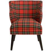 Darby Home Co Tobar Barrel Chair; Bogo Blue OGA