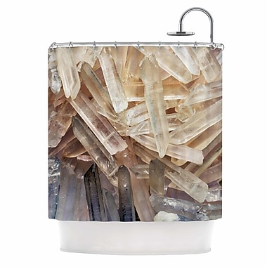 East Urban Home 'Crystal Cluster' Shower Curtain